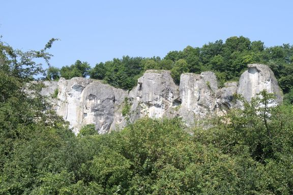 Limestone cliffs